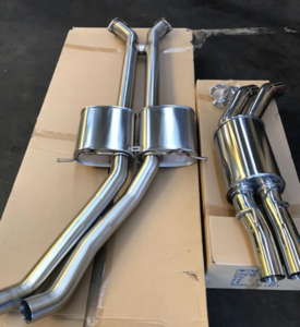 Commodore Stainless Steel Exhaust